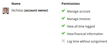 Manage your team members' permissions for creating invoices